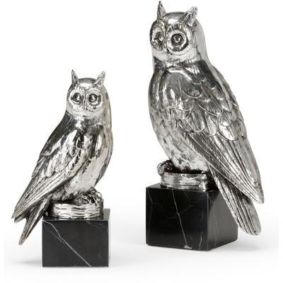 Owls Figurines (Set of 2)