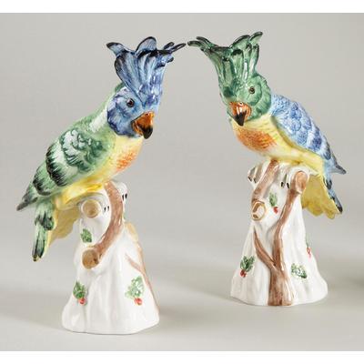 Hope Parrots Figurines (Pair)