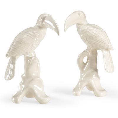 Toucans Figurines (Pair)