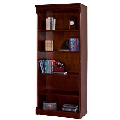 Mount View Open Bookcase - Cherry Cobblestone