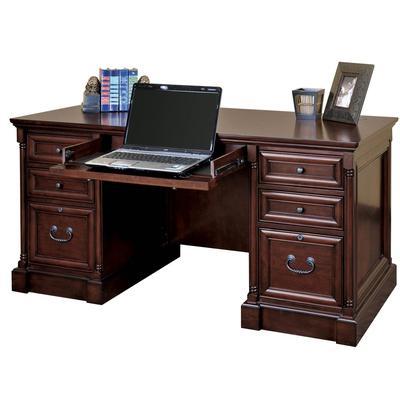 Mount View Efficiency Double Pedestal Desk