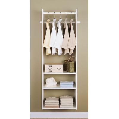 Hanging Tower Closet Kit - White