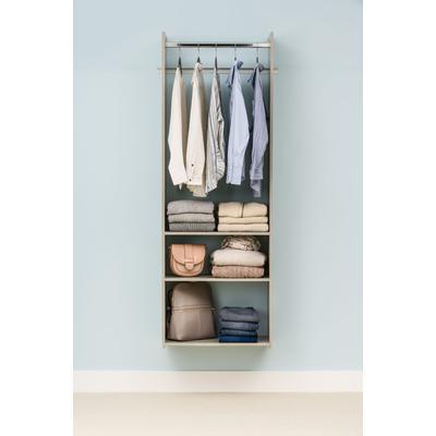 Hanging Tower Closet Kit - Weathered Grey
