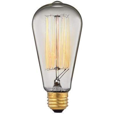 Filament Light Bulb - Clear/Gold