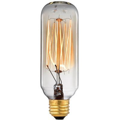 Candelabra Filament Light Bulb - Clear/Gold