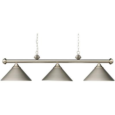 Casual Traditions 3-Light Billiard Pendant