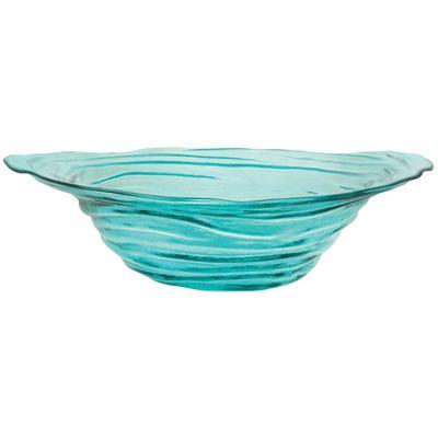 """19.5"""" Vortizan Bowl - Turquoise"""