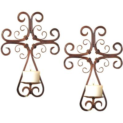Tejas Set of Eight Wall Sconces