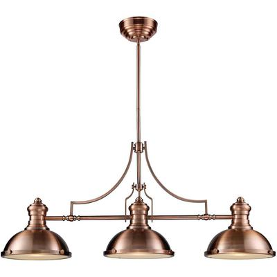 Chadwick 3-Light LED Billiard Light - Antique Copper