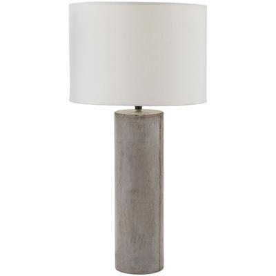 Cubix Round Desk Lamp with Philips Hue LED Bulb/Bridge - Concrete