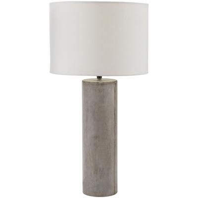 Cubix Round Desk Lamp with Philips Hue LED Bulb/Dimmer - Concrete