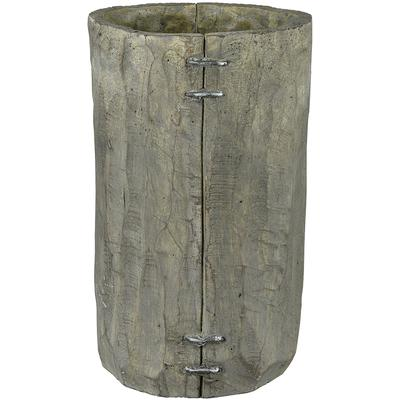 "11.5"" Saddlestitch Vase"