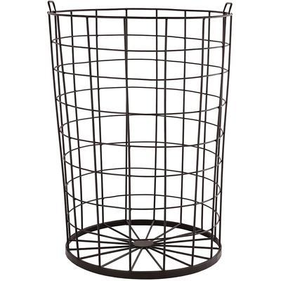 Farmhouse Rug Basket