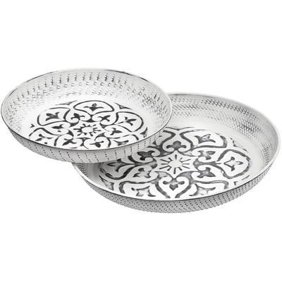 Set of 2 Joslyn Decor Plates