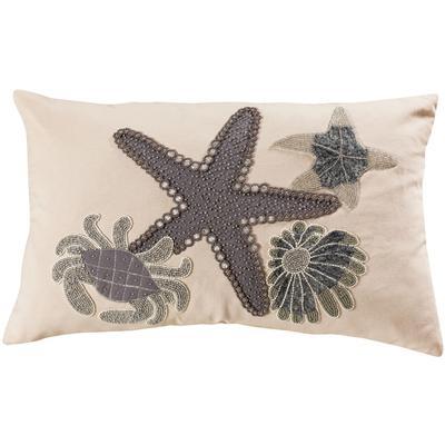 """16"""" x 26"""" Coastal Treasures Lumbar Pillow"""