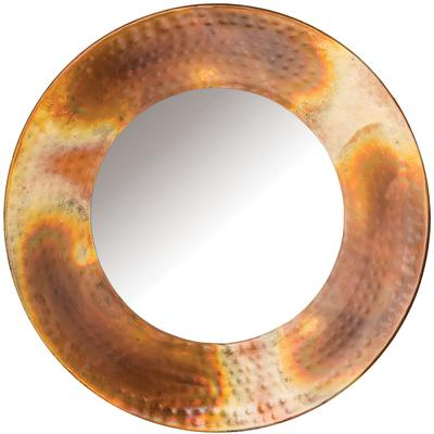 "Burnham 11.75"" Round Mirror"