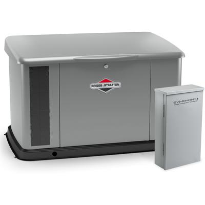 20kW Generator with Dual 200 Amp Symphony II Switch