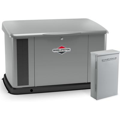 20kW Generator with Aluminum Enclosure and 100 Amp Symphony II Switch