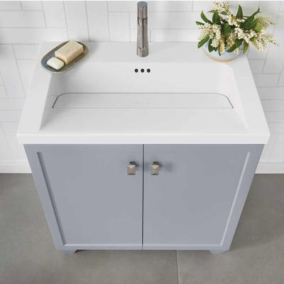 """30"""" Freestyle Sinktop with Single Faucet Hole - White"""