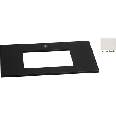 """32"""" x 19"""" TechStone Vanity Top, 3/4"""" Thick - Wide White"""