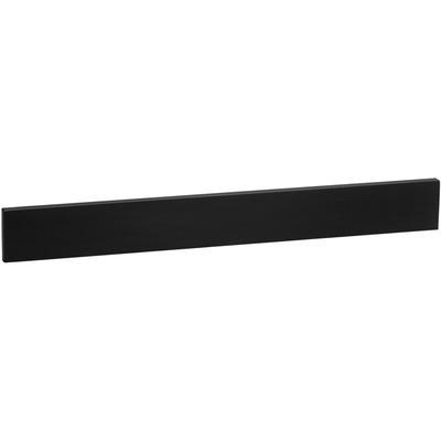 "43"" x 3"" TechStone Backsplash - Broad Black"