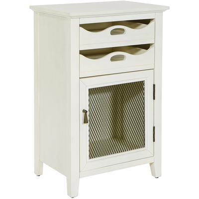 Argento Storage Cabinet - Antique Beige