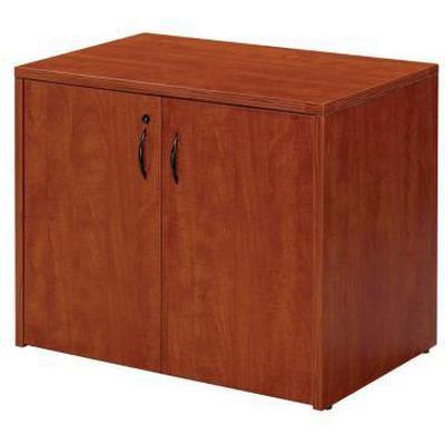 Napa 2-Door Storage Cabinet - Cherry