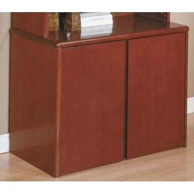 Sonoma 2-Door Storage Cabinet - Dark Cherry
