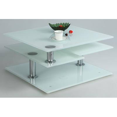 8052 Series Starphire Glass Cocktail Table