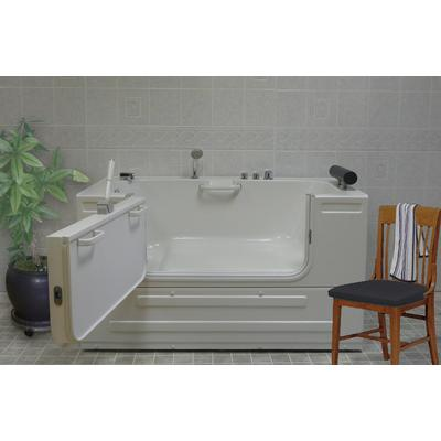 Sit-In Tub with 16 Heated Air Jets & Left-Hand Drain