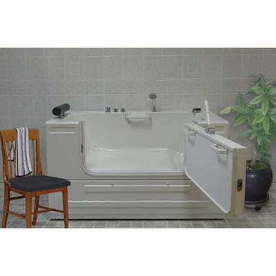Sit-In Tub with 16 Heated Air Jets & Right-Hand Drain
