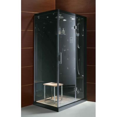 Jupiter Personal Steam Shower with Controls on Right