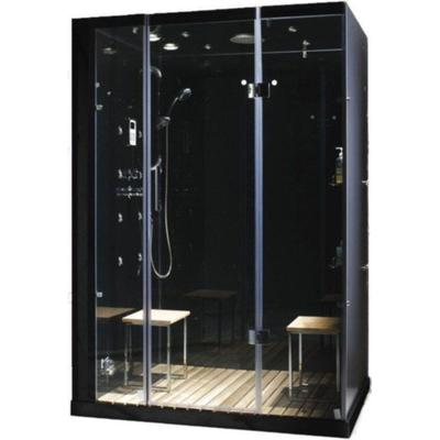 Orion Plus 2-Person Steam Shower with Controls on Left