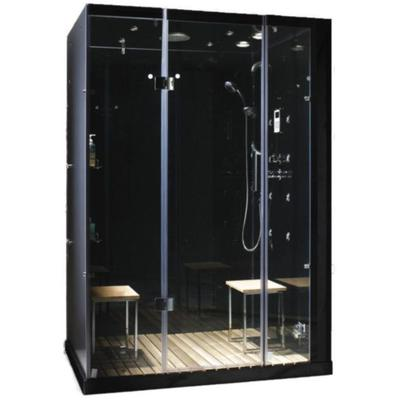 Orion Plus 2-Person Steam Shower with Controls on Right