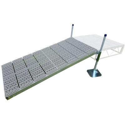 4' x 8' Shore Ramp Kit with Poly Deck