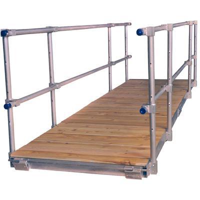 4'X16' Gangway Kit With Cedar Deck