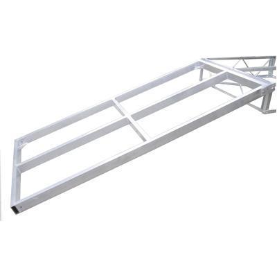 Low-Profile Floating Dock Frame