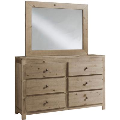 Wheaton Drawer Dresser with Mirror