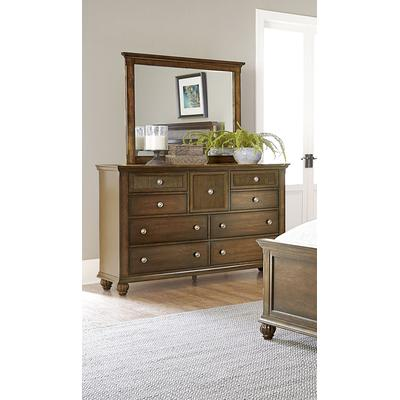 Cotswold Grove Drawer Dresser with Mirror