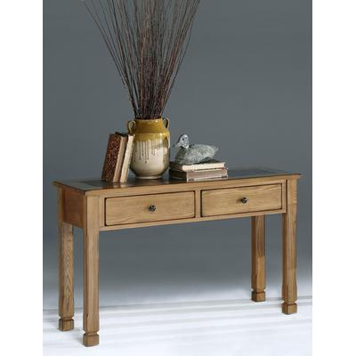 Rustic Ridge Sofa/Console Table