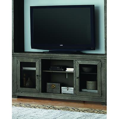 "Willow 68"" Console - Distressed Dark Gray"