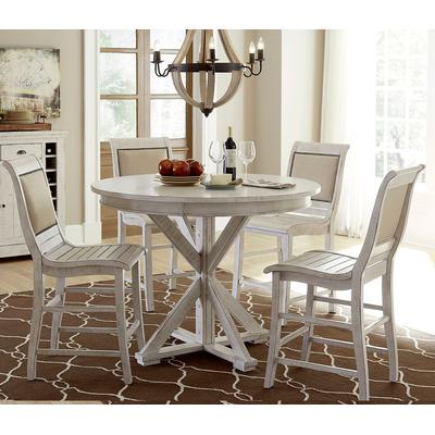Willow White Round Counter Table