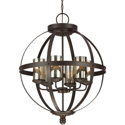 Sfera 6-Light Chandelier - Autumn Bronze
