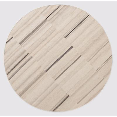 Nomad 6' Round Accent Rug – Natural
