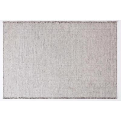 Biscuit 6' x 9' Area Rug - Silver