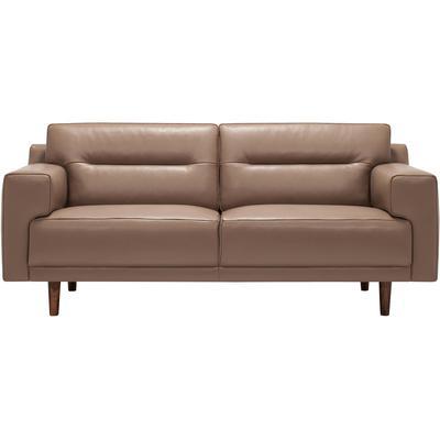Remi Leather Loveseat
