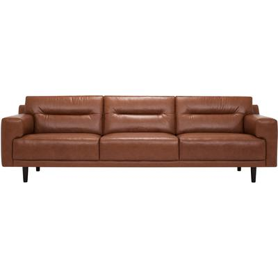 Remi Leather Extended Sofa