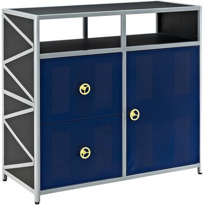 Dune Buggy 2-Drawer 1-Door Cabinet