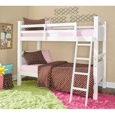 Beckett Twin Over Twin Bunk Bed - White