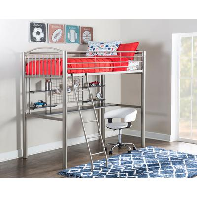 Gavin Twin Loft - Pewter/White